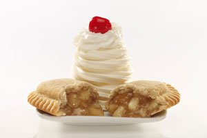 Apple Turnover Sundae